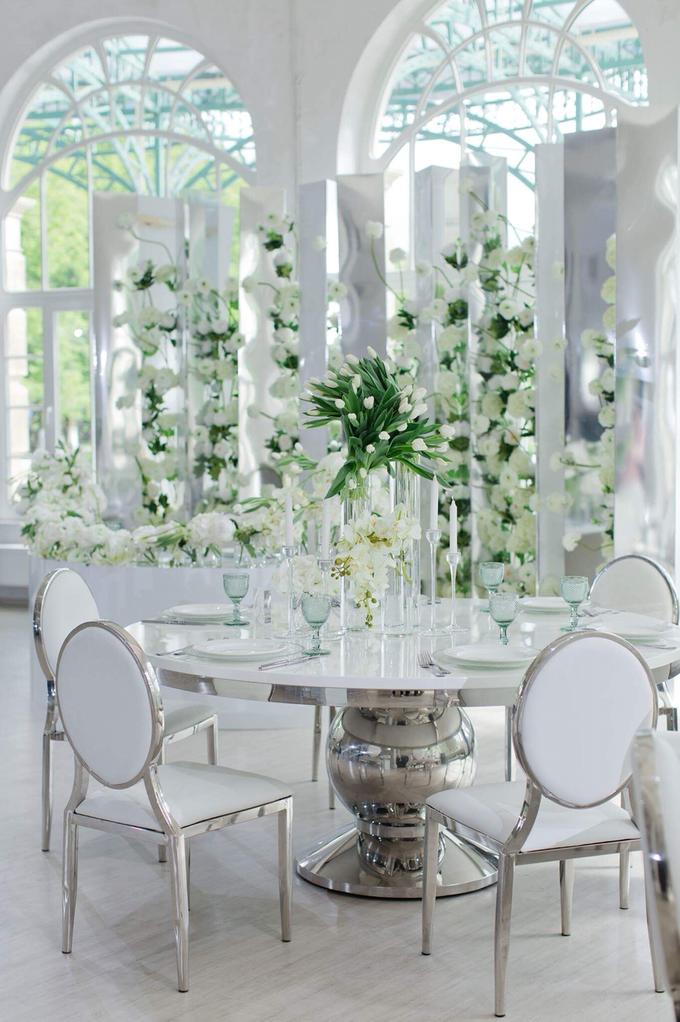Minimalist wedding in June by Maria German decor - 014