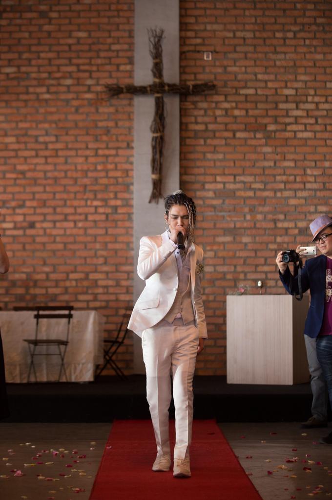 Church Wedding - Koujee+Faye by Nix Studio - 001