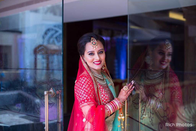 Indian bridal  by MakeUpArtByAby - 002