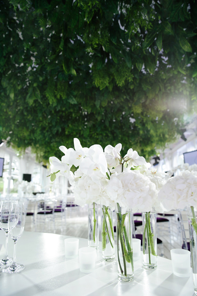 White and green wedding K&K by Maria German decor - 003