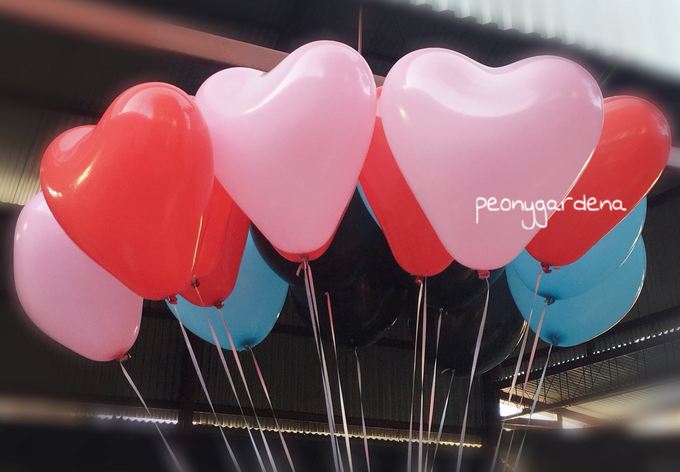 helium balloons by Peony Garden Bali - 012