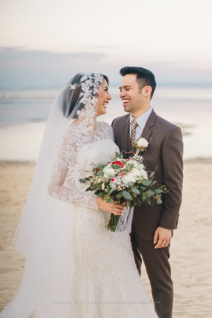 Bali Wedding : Acha & Andy Holy Matrimony by Elsie Chrysila Brides - 013