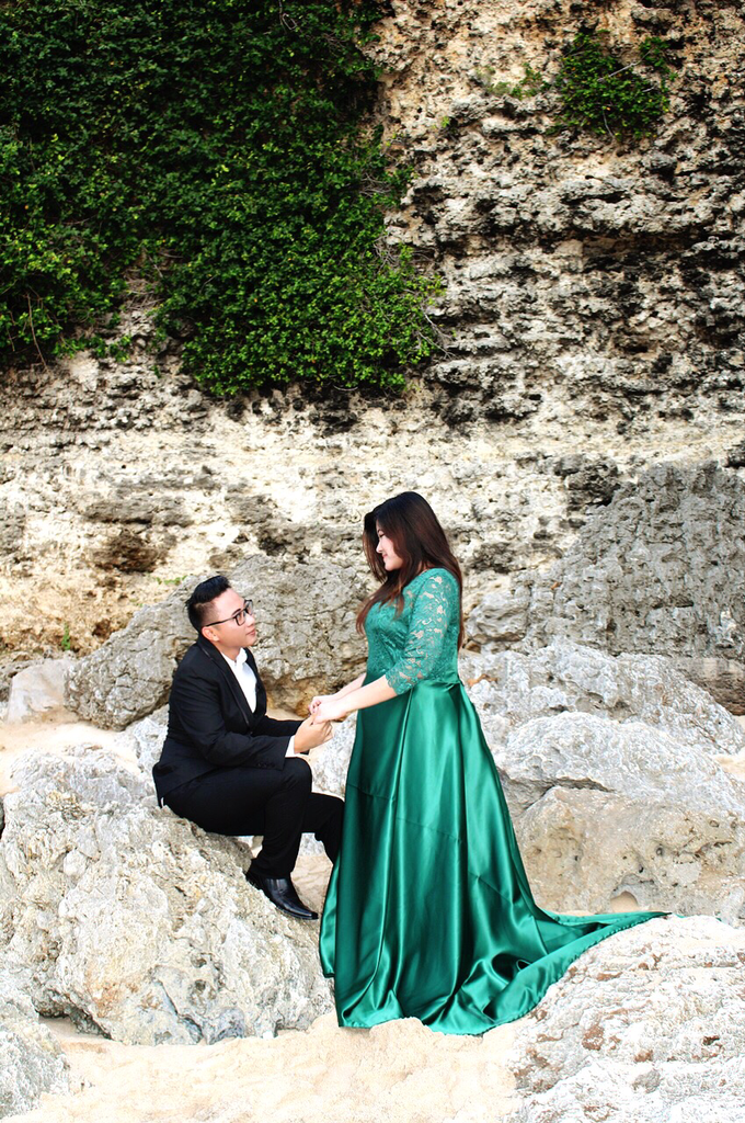PLUS SIZE DRESS FOR PRE WED PHOTOSHOOT (A&I) by TS BRIDAL BALI - 004