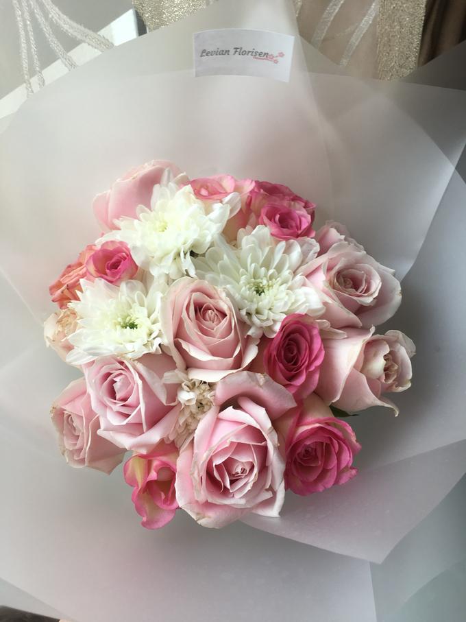 Pink Velvet Bouquet  by Levian Florisen - 010