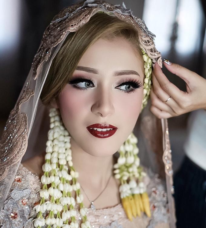 Wedding Hanun & Yusuf by Imel Vilentcia Make Up Artist - 001