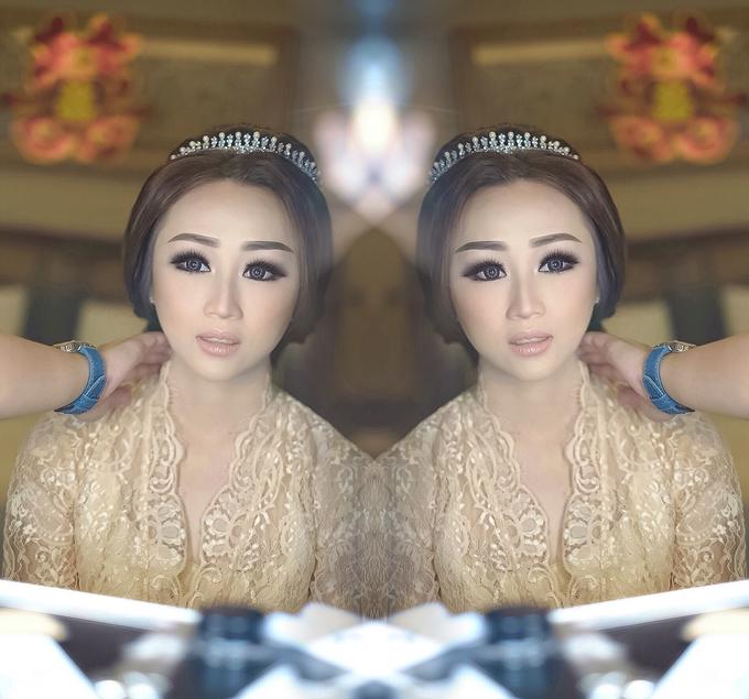 Wedding makeup for Irene (palu) by Imel Vilentcia Make Up Artist - 001