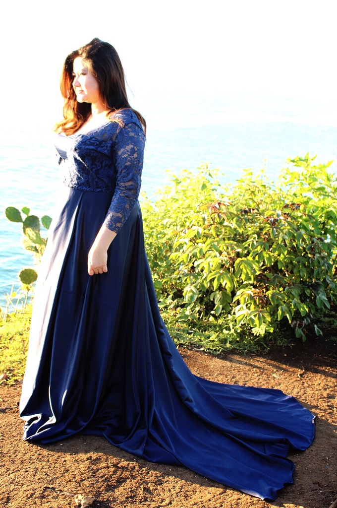 PLUS SIZE DRESS FOR PRE WED PHOTOSHOOT (A&I) by TS BRIDAL BALI - 003