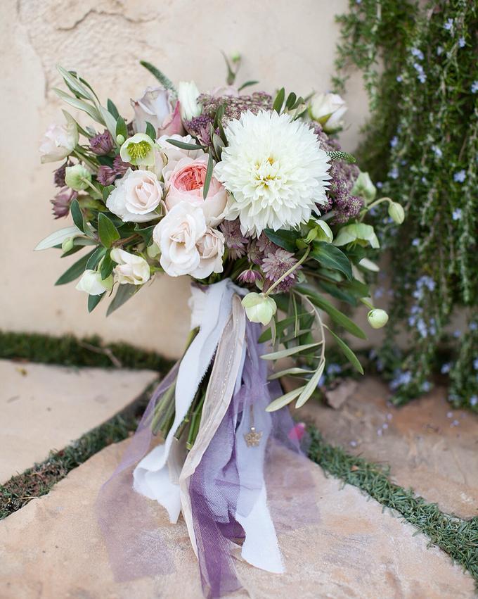 Garden + Lavender Wedding by Shindig Chic - 001
