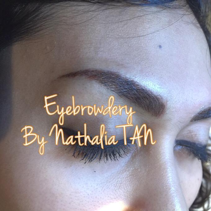 Eyebrow Embroidery  by Nathalia TAN Makeup Artist - 002