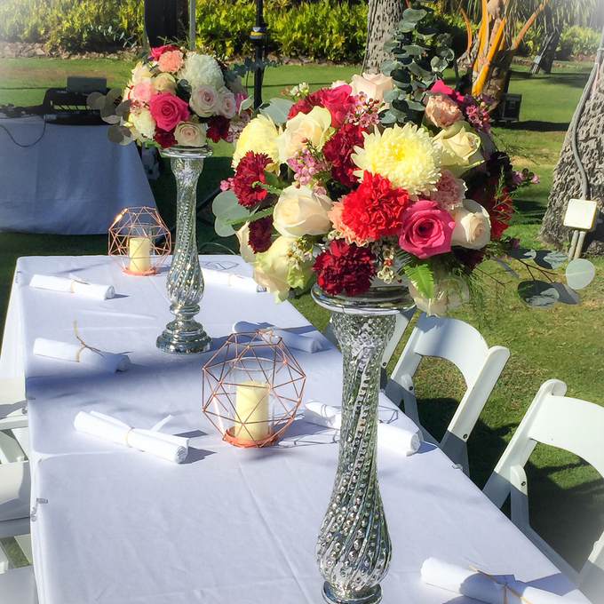 Wedding Floral Design by Bella Amour Events Hawaii - 004