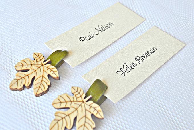 Fall name tags by Jasmine wedding prints - 001