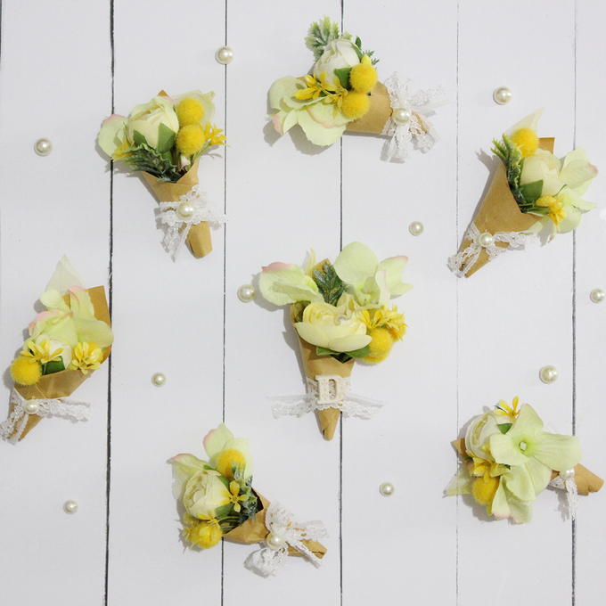 CUSTOM BOUTONNIERES vol 02 by The Bride and Butter - 004