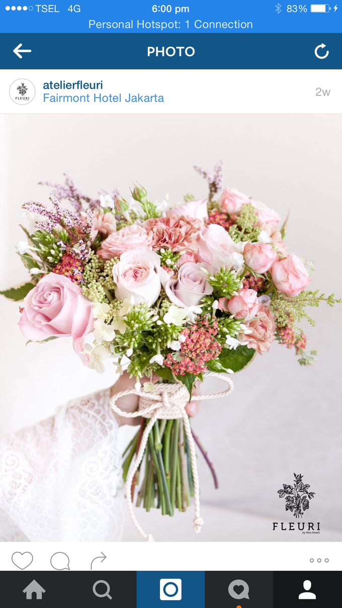 Bridal Bouquets by Fleuri - 017