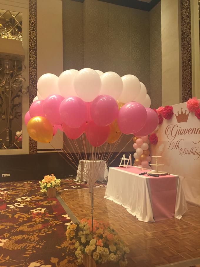 helium balloons by Peony Garden Bali - 001