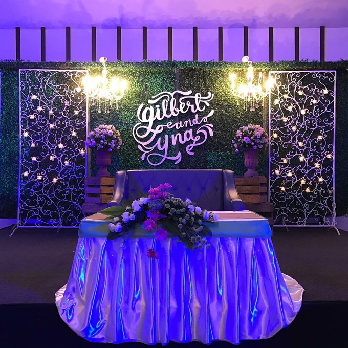 Couples Backdrop by Hizon's Catering - 003