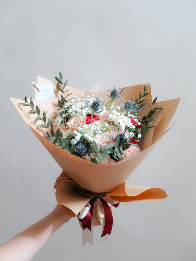 Rustic bouquet by Liz Florals - 001