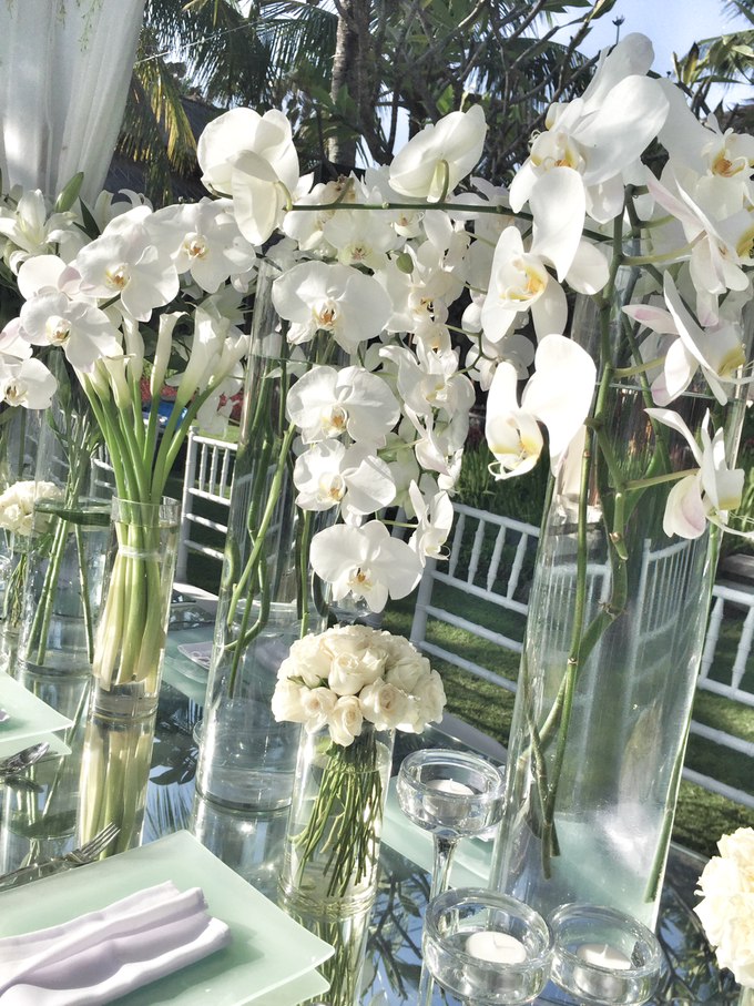 White wedding in starry light by Bali Signature - 007