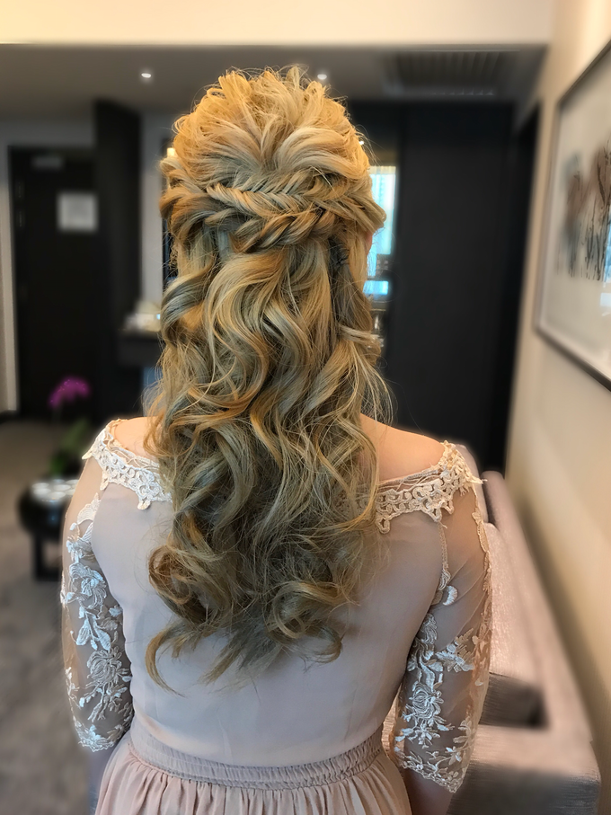 Bridal Hairstyles  by Zinny Theint Make-up Artistry - 008