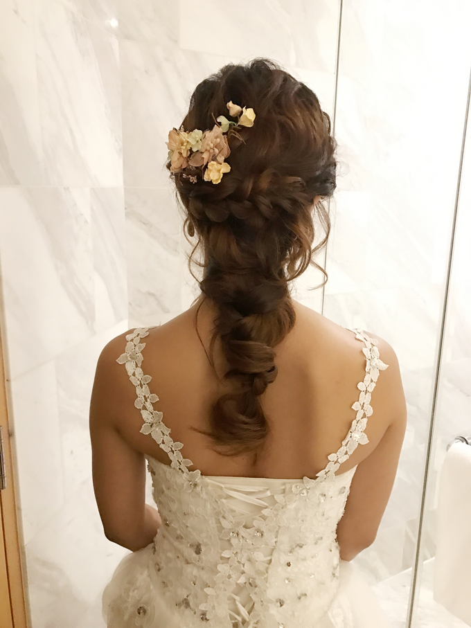 Bridal Hairstyles  by Zinny Theint Make-up Artistry - 007