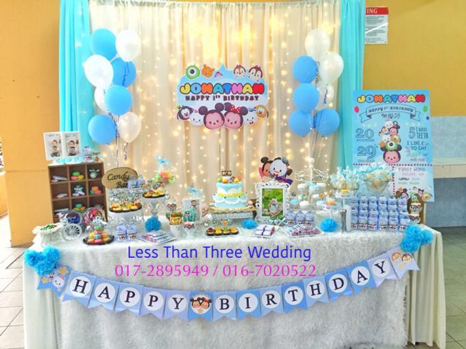 Birthday Decoration by Less Than Three Wedding - 019