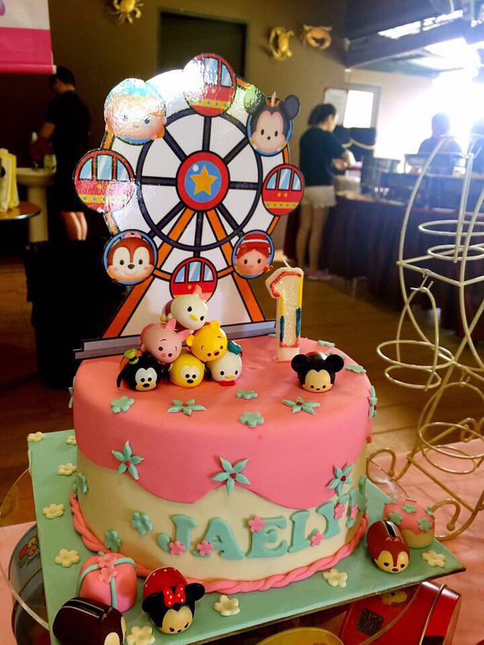 Tsum tsum birthday party by ilmare Wedding - 006