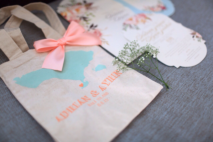 The Summer Breeze by Forget Me Not Invitation - 003