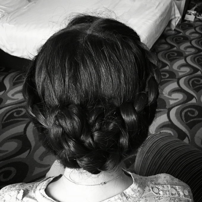 Wedding Hairdo and Functions Makeup  by Lin Elier NaturalBeauty - 002