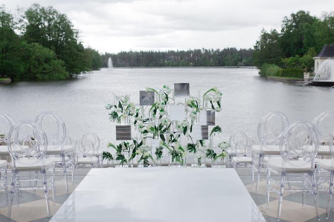 Minimalist wedding in June by Maria German decor - 001