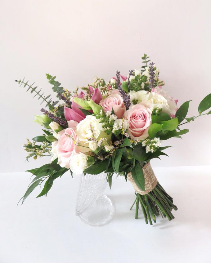 Pink lavender by Royal Petals - 001