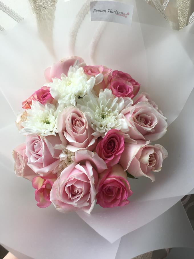 Pink Velvet Bouquet  by Levian Florisen - 007