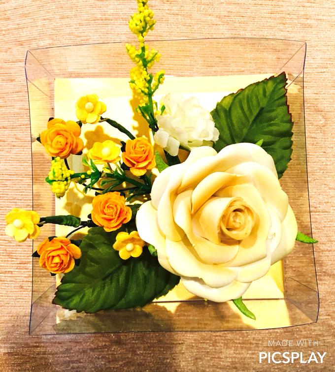 Handmade Flower Corsage by Wedding Needs - 009
