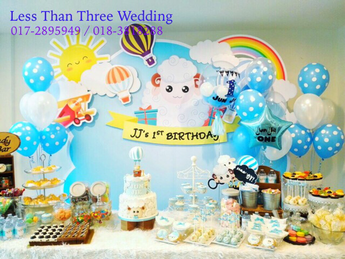 Birthday Decoration by Less Than Three Wedding - 002