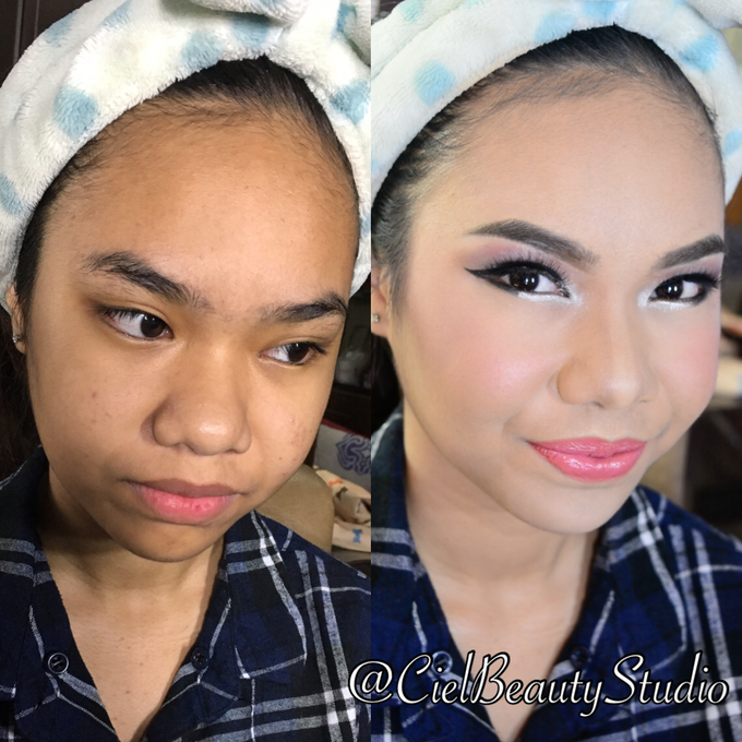 Before After Makeup By Ciel Makeup Artist Bridestorycom
