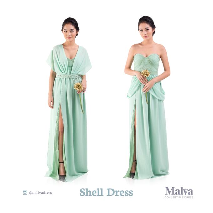 Shell Dress by MALVA Bridesmaids - 010
