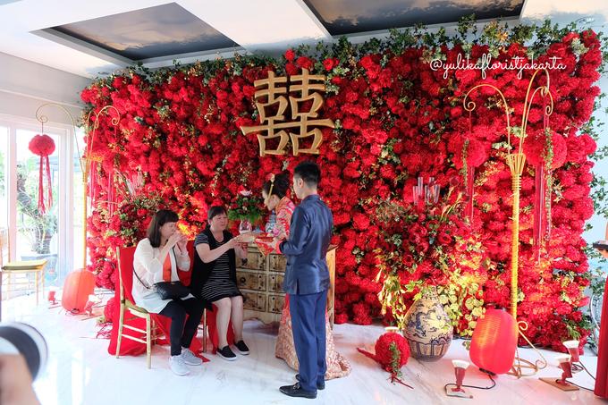 Red Sangjit Dicky & Elzshia by Yulika Florist & Decor - 003