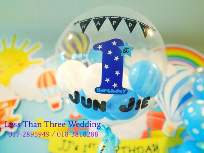Birthday Decoration by Less Than Three Wedding - 003