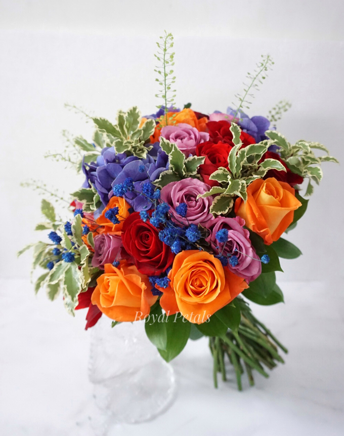 Candy crush wedding bouquet by Royal Petals - 003