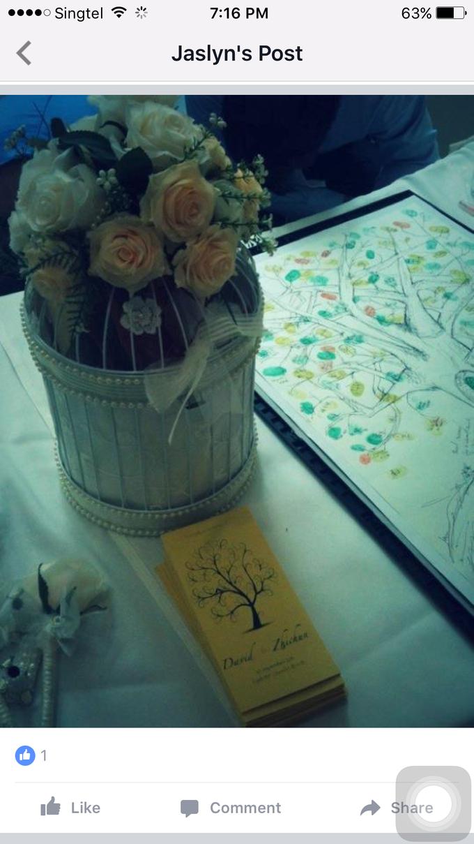 Simple church wedding setup by ilmare Wedding - 007