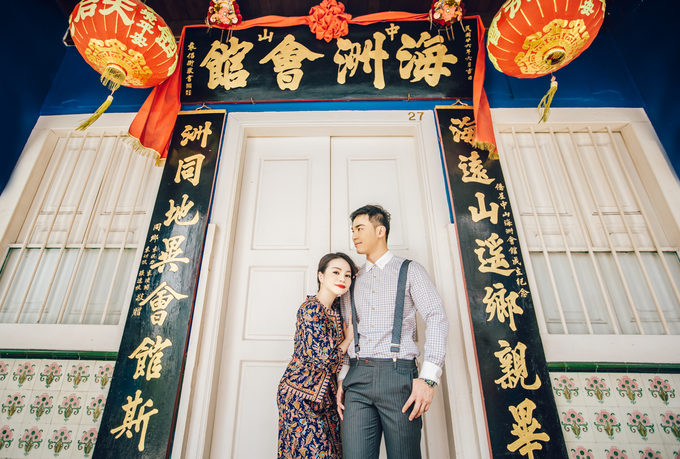 Gin Gin pre wedding shoot  by Cocoon makeup and hair - 004