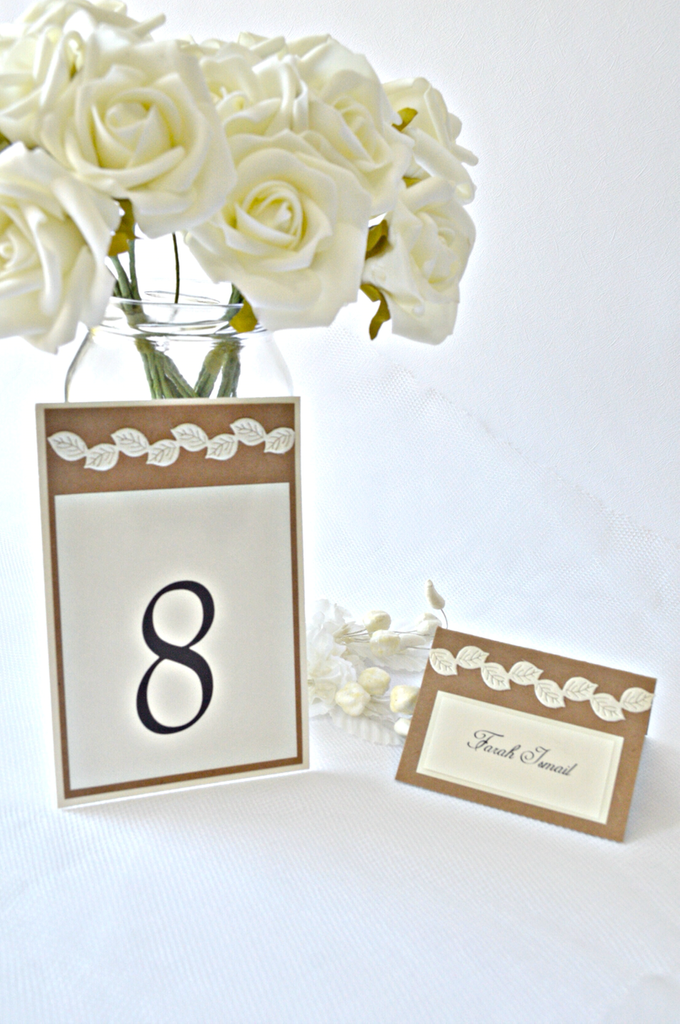 Fall wedding stationary  by Jasmine wedding prints - 002