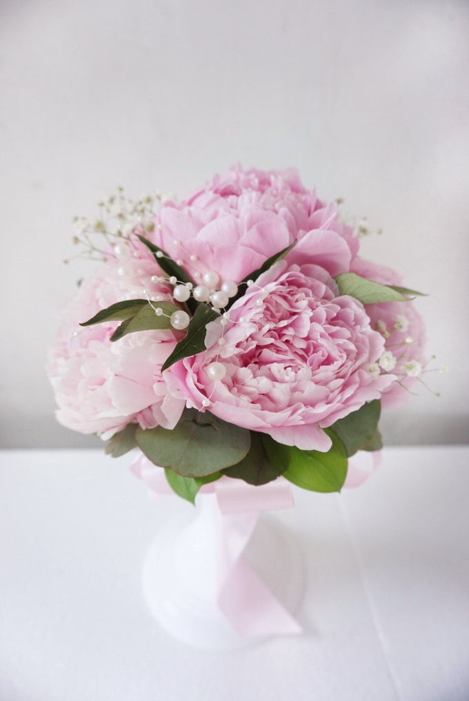 The blush of peonies  by Royal Petals - 001