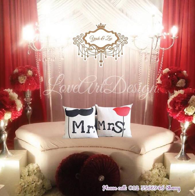 Promotion backdrop by love art design - 004