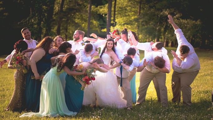 Southern summer wedding  by L&A Event Designs - 032