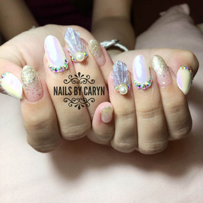 Japanese style nails by nails by Caryn | Bridestory.com