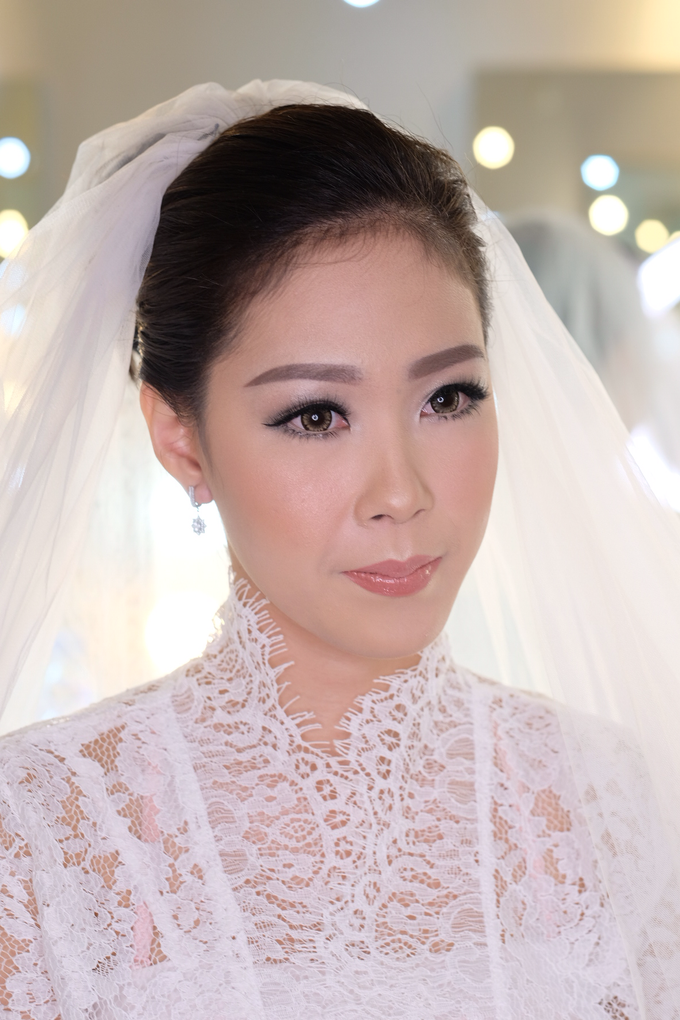 Ria wedding makeup by Amanda Makeup Artist - 006