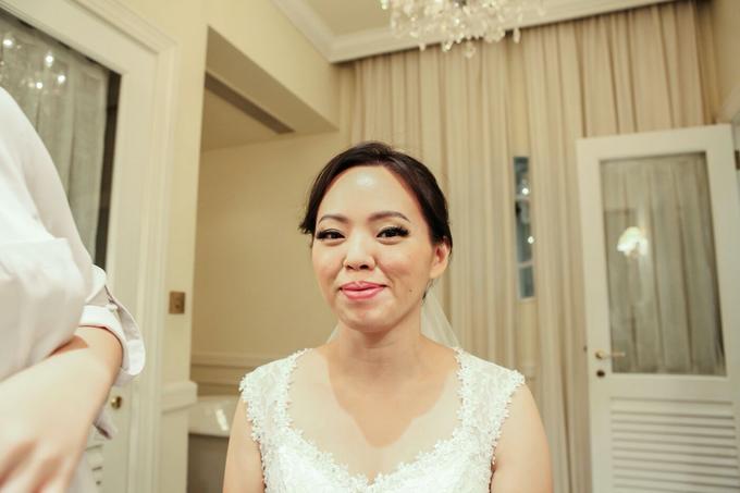Sam & Ivy's Wedding by YRegina Makeup - 005