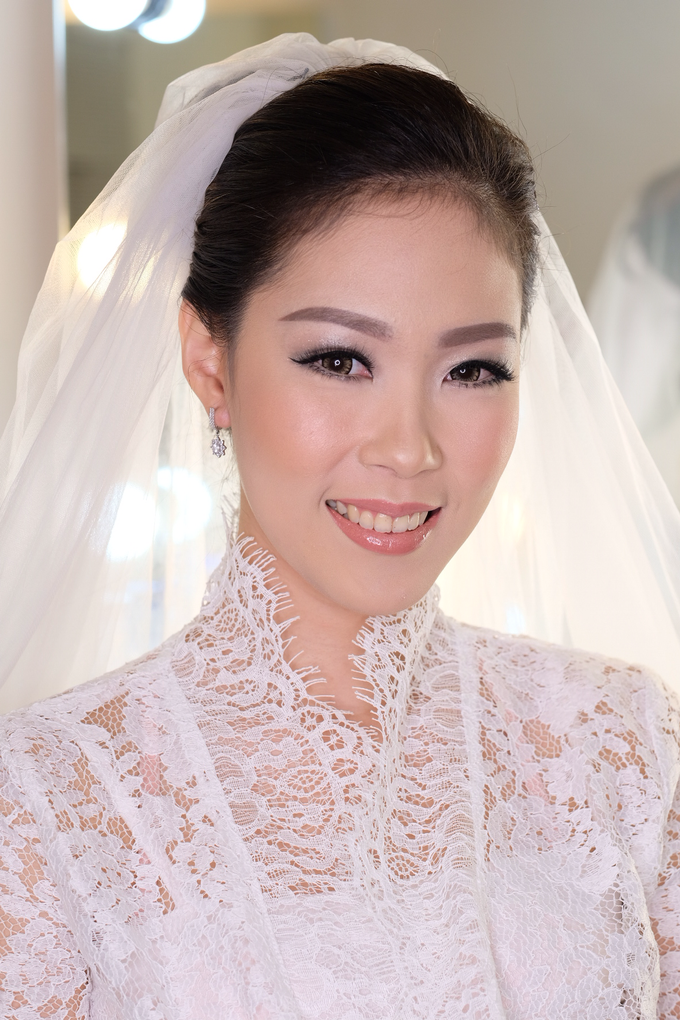 Ria wedding makeup by Amanda Makeup Artist - 017
