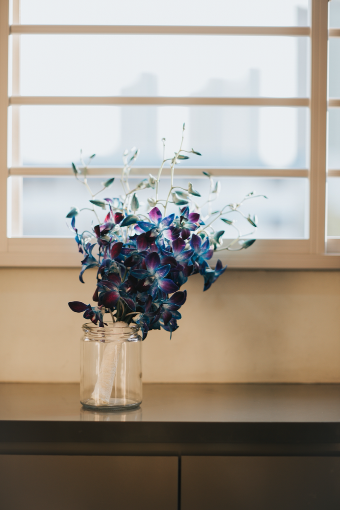 Blue Orchids by Liz Florals - 003