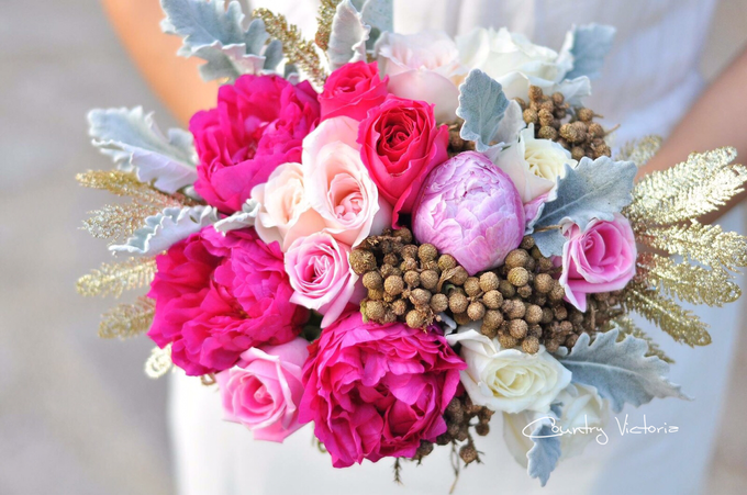 Bridal Bouquets by Country Victoria - 015