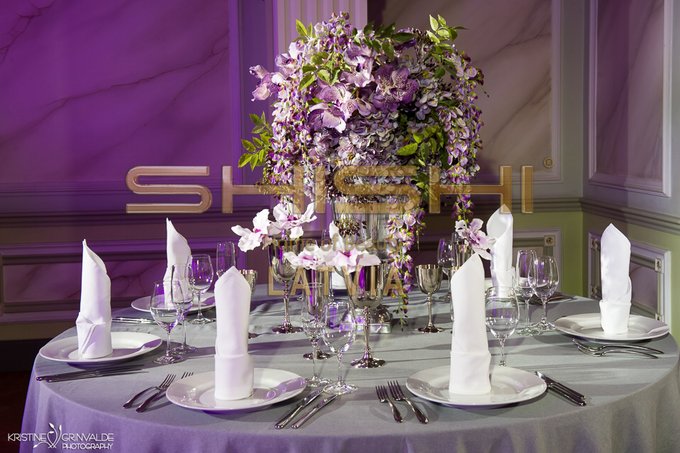 Table decorations by SHISHI Home of Beauty - 009